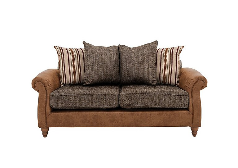 Chinook Fabric Seat 2 Seater Pillow Back Sofa