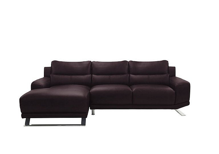 Seville Chaise End Leather Sofa