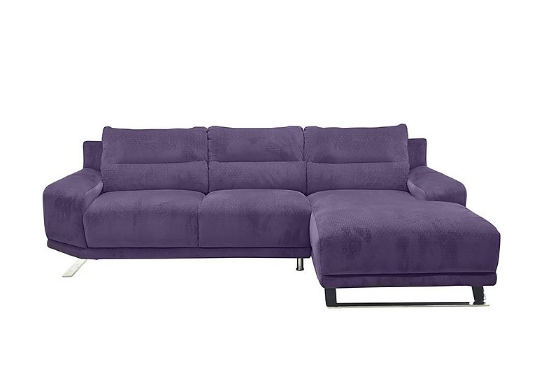 Seville Fabric Chaise End Sofa