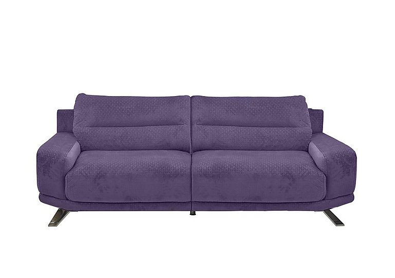 Seville 3 Seater Fabric Sofa