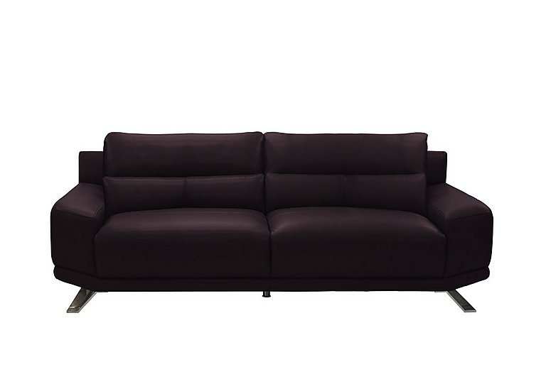 Seville 3 Seater Leather Sofa