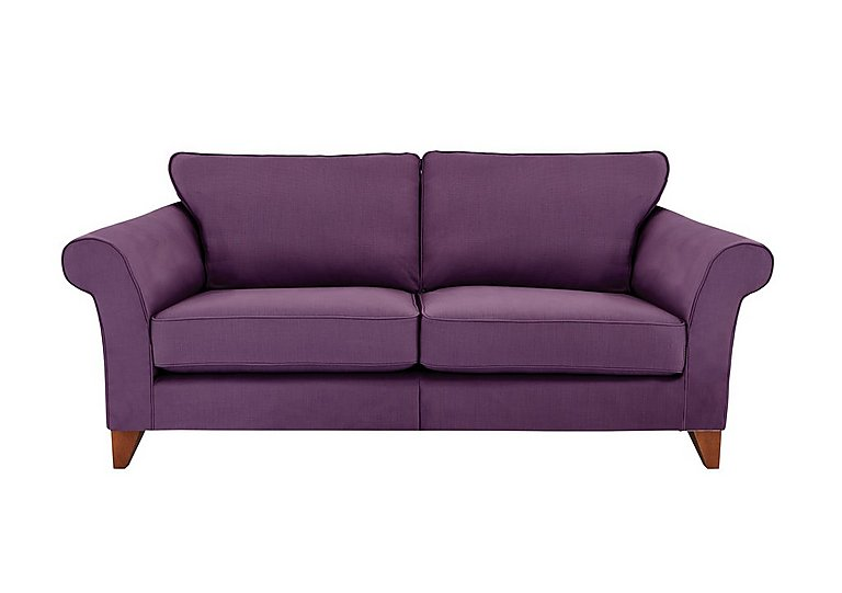 Regent Street 3 Seater Large Fabric Sofa - Only One Left!
