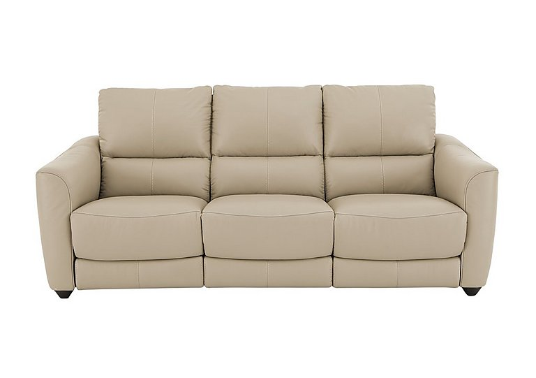 Trilogy 3 Seater Sofa with 3 Manual Recliners - Only One Left!