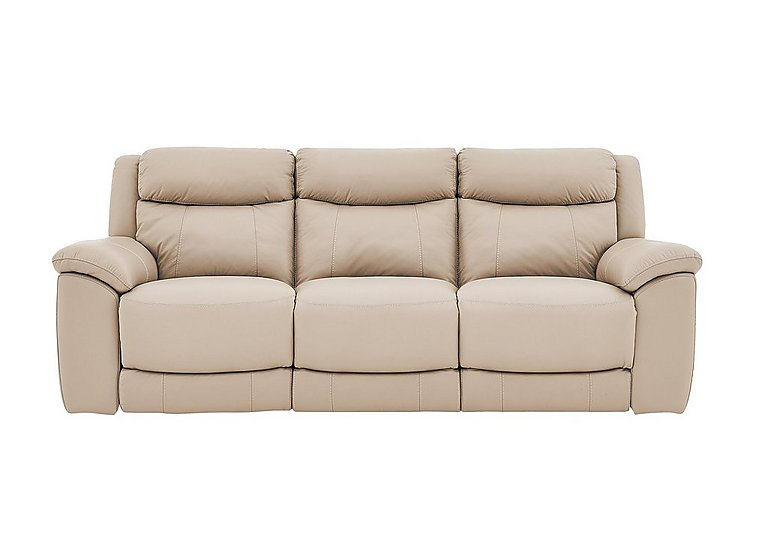 Bounce 3 Seater Leather Sofa with 2 Power Recliners - Only One Left!