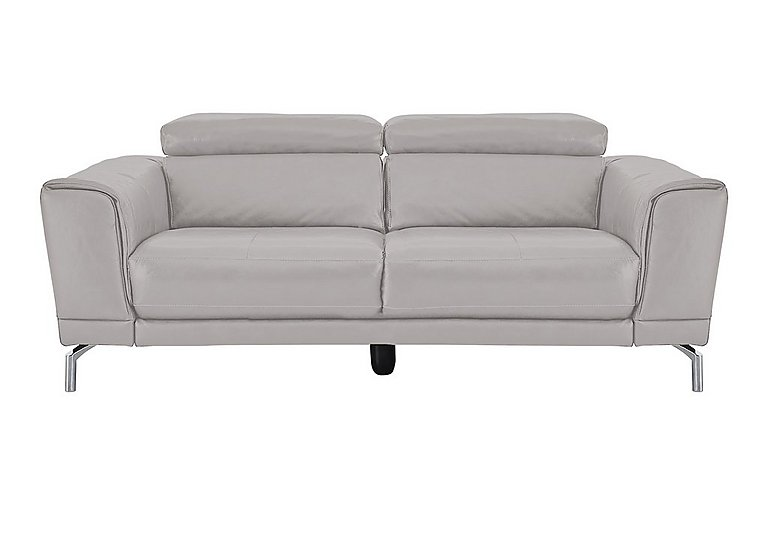 Calabria 3 Seater Leather Sofa - Only One Left!