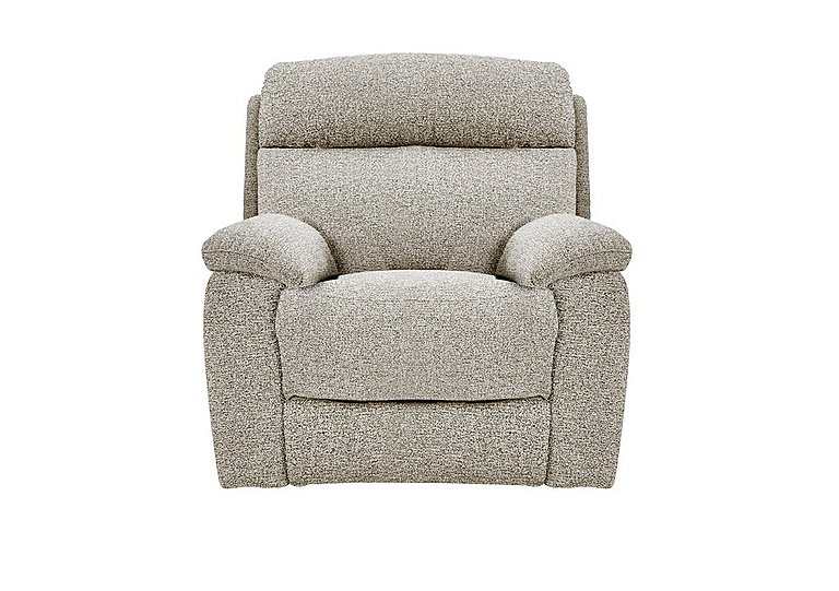 Moreno Fabric Power Recliner Armchair - Only One Left!
