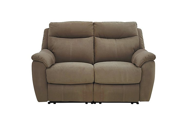 Snug 2 Seater Fabric Sofa - Only One Left!