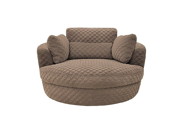 Ronda Fabric Swivel Armchair