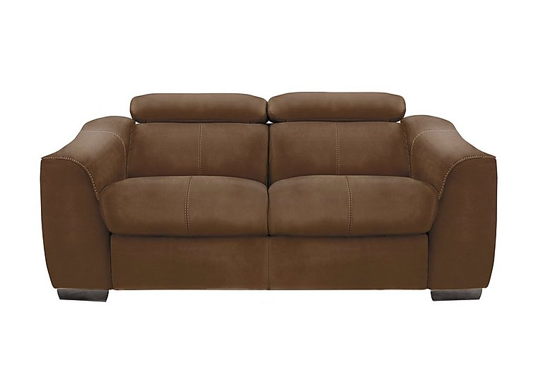 Elixir 2 Seater Fabric Power Sofa with Power Headrests