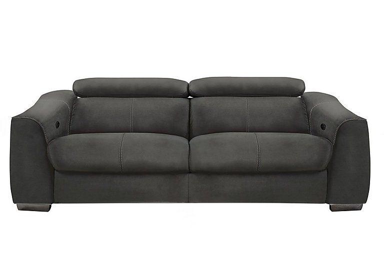 Elixir 3 Seater Fabric Power Sofa with Power Headrests