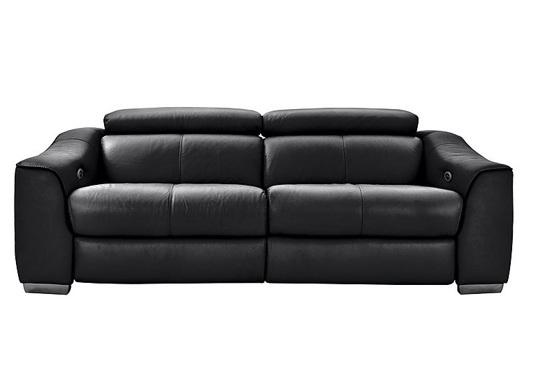 Elixir 3 Seater Leather Power Sofa with Power Headrests