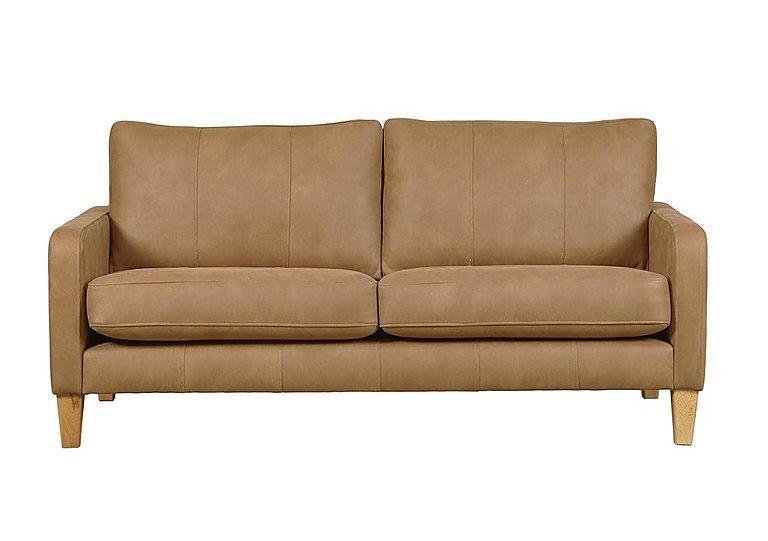 Maddox 3 Seater Leather Sofa