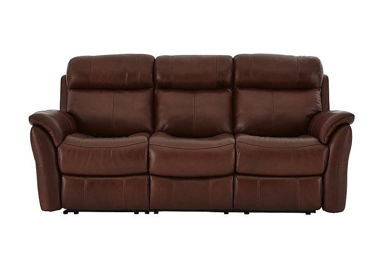 Revive 3 Seater Leather Sofa - Only One Left!