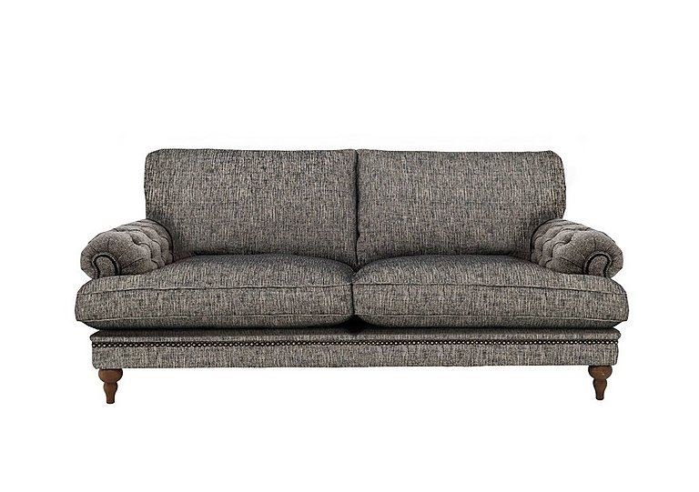 Navajo Full Fabric Classic Back 4 Seater Sofa