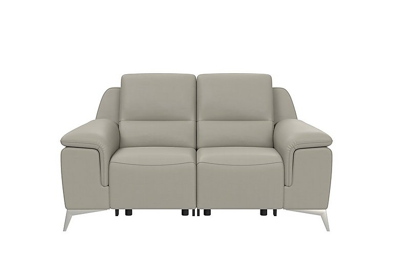 Vincitore 2 Seater Leather Power Recliner Sofa