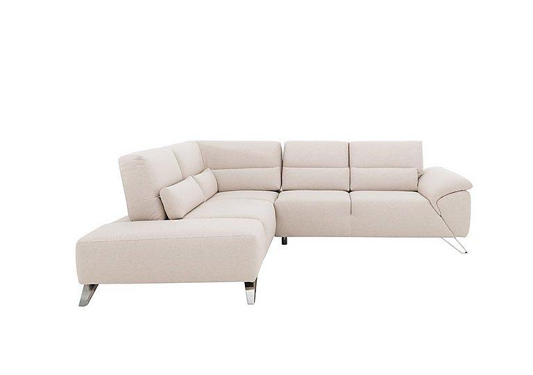 Novita Fabric Corner Sofa with Chaise End