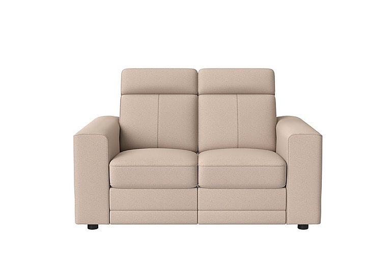 Movimento Highback Fabric Power Recliner 2 Seater Sofa with Power Headrests