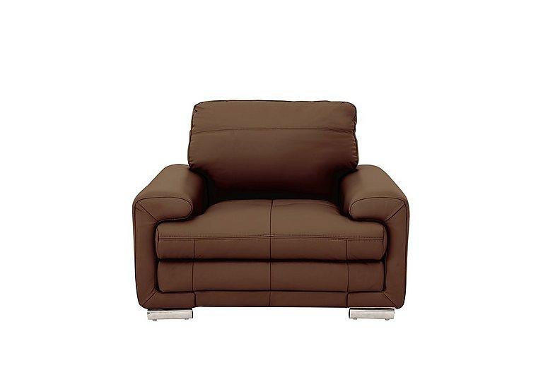 Gamma Leather Armchair