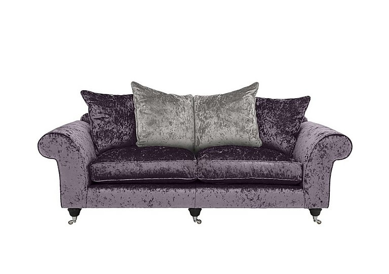 Wellington Glamour 3 Seater Split Pillow Back Sofa