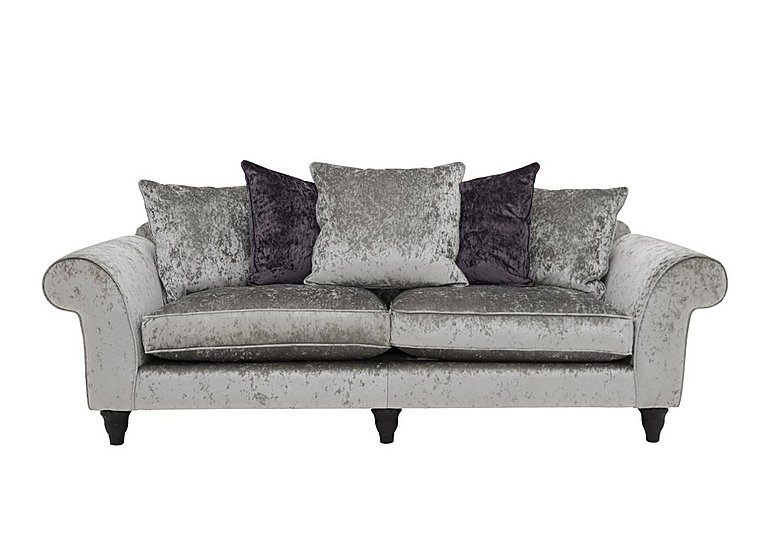 Wellington Glamour 4 Seater Split Pillow Back Sofa