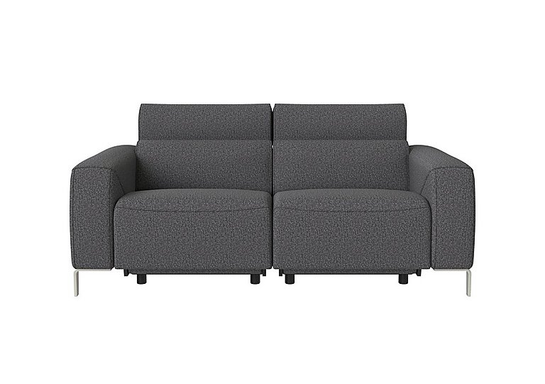 Lusso Fabric Power Recliner 2.5 Seater Sofa with Power Headrests
