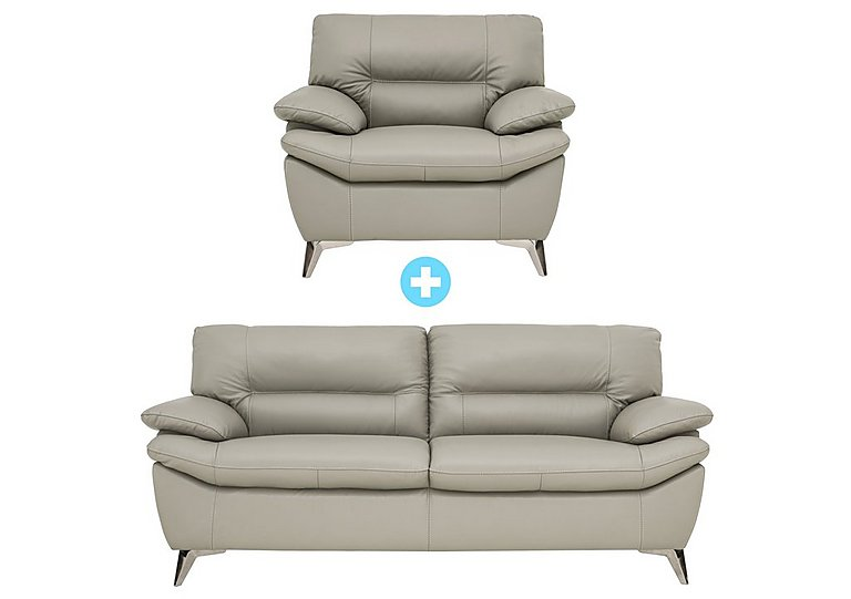 Ventura 3 Seater Sofa and Armchair Multi Buy Saver Set