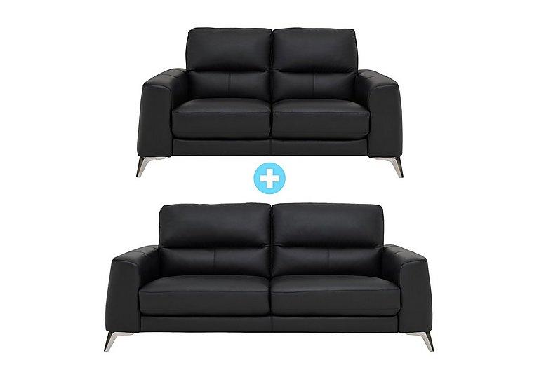 Enzo 3 Seater Sofa and 2 Seater Sofa Multi Buy Saver Set
