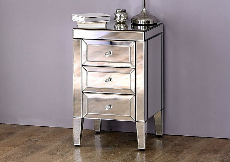 Francesca 3 Drawer Bedside Table - Limited Stock!