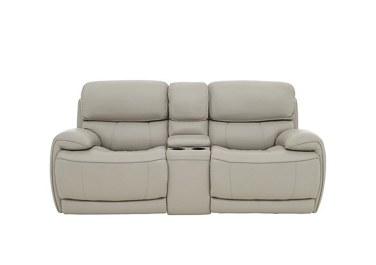 Relax Station Loco 2 Seater Leather Power Rocker Sofa with Cup Holders and Power Headrests