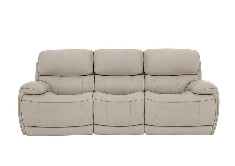 Relax Station Loco 3 Seater Fabric Power Rocker Sofa with Power Headrests