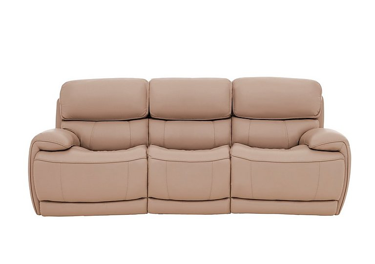 Relax Station Loco 3 Seater Leather Power Rocker Sofa with Power Headrests