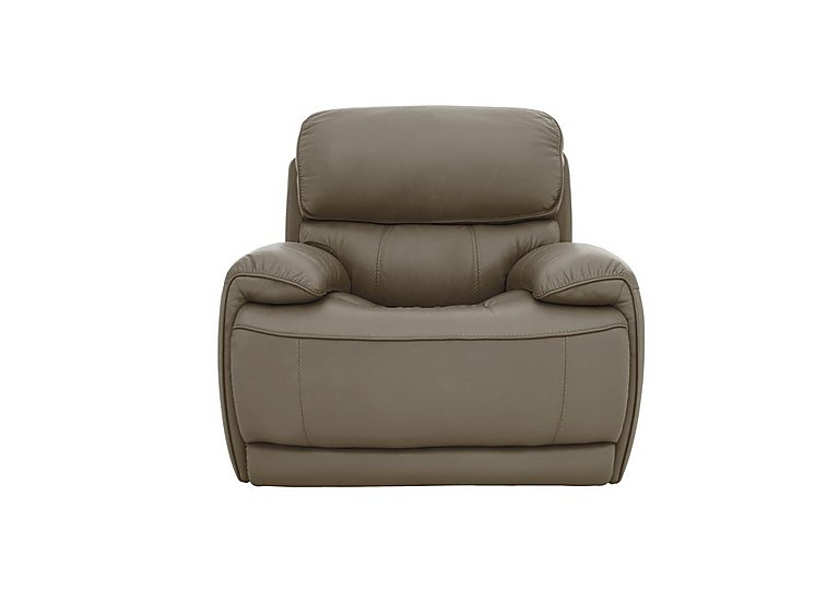 Relax Station Loco Leather Power Rocker Chair with Power Headrest