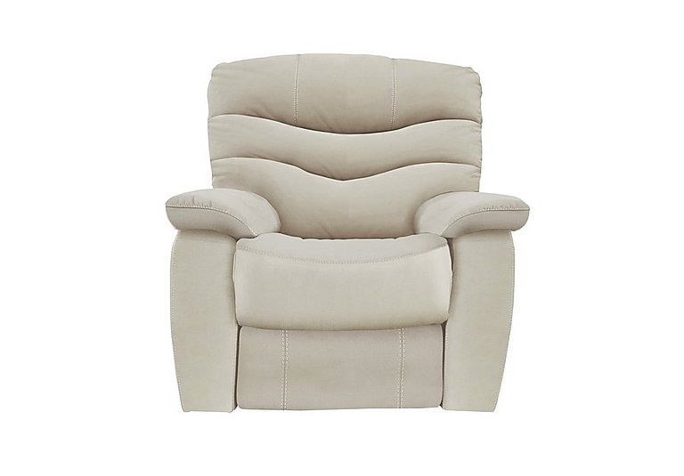 Cozy Fabric Manual Recliner Armchair - Limited Stock!