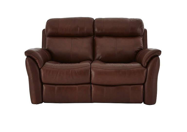 Revive 2 Seater Leather Power Recliner Sofa - Only One Left!
