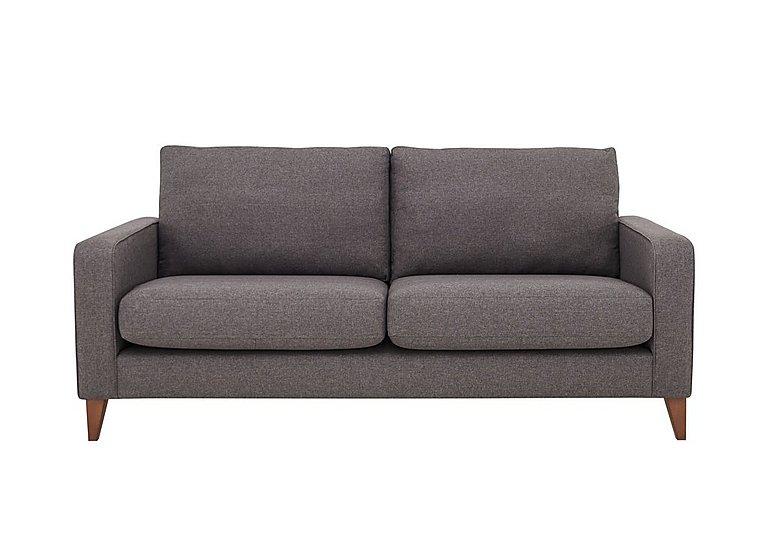 Alex 3 Seater Classic Back Fabric Sofa