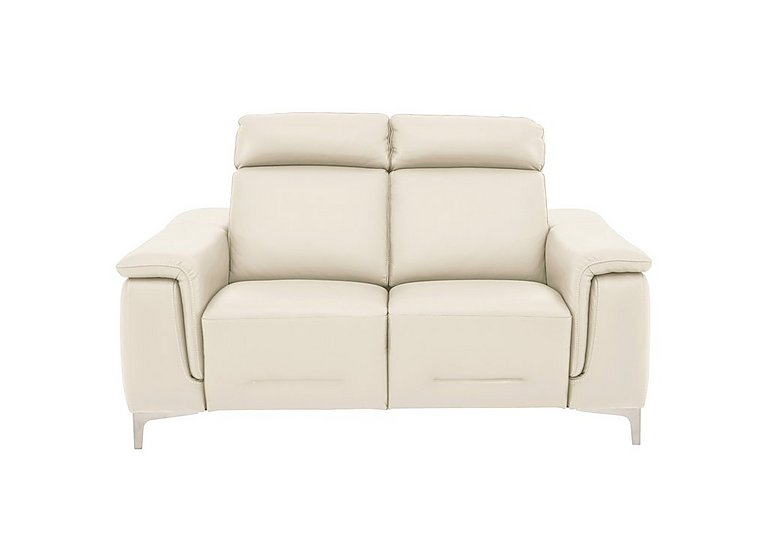 Ginosa Leather 2 Seater Power Recliner Sofa with Power Headrests