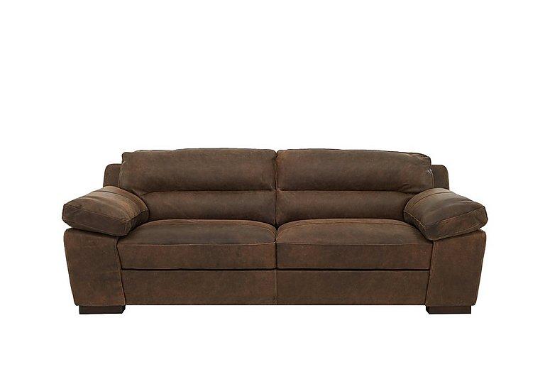 Alessia 3 Seater Leather Sofa