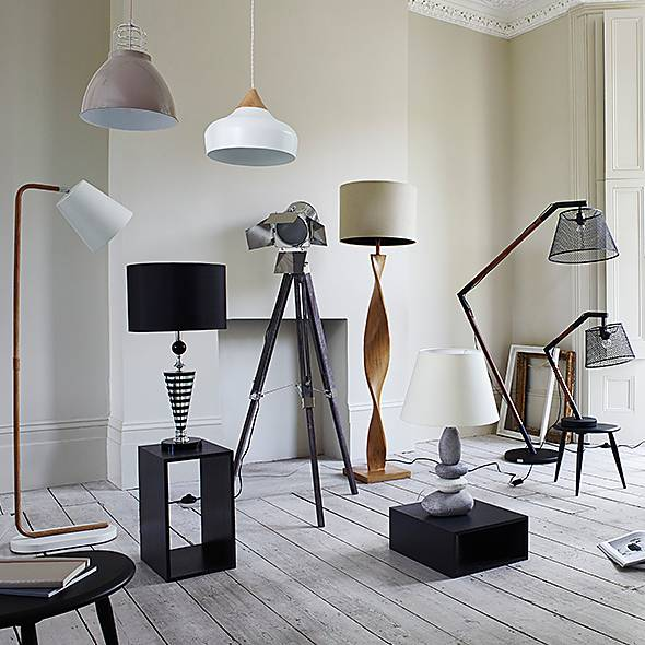 Furniture Village lighting