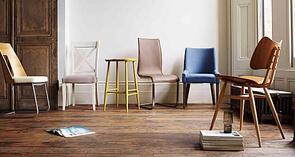 Furniture Village dining chairs and stools