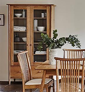 Furniture Village display cabinets