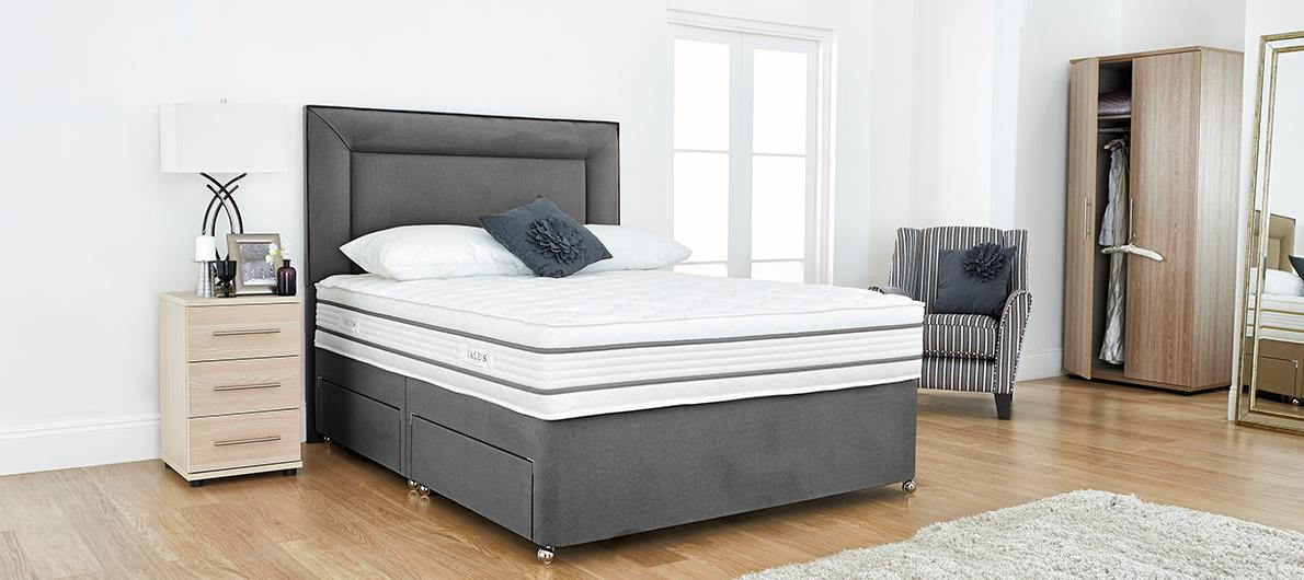 Furniture Village Guarantee salus beds, divans & bed frames - furniture village