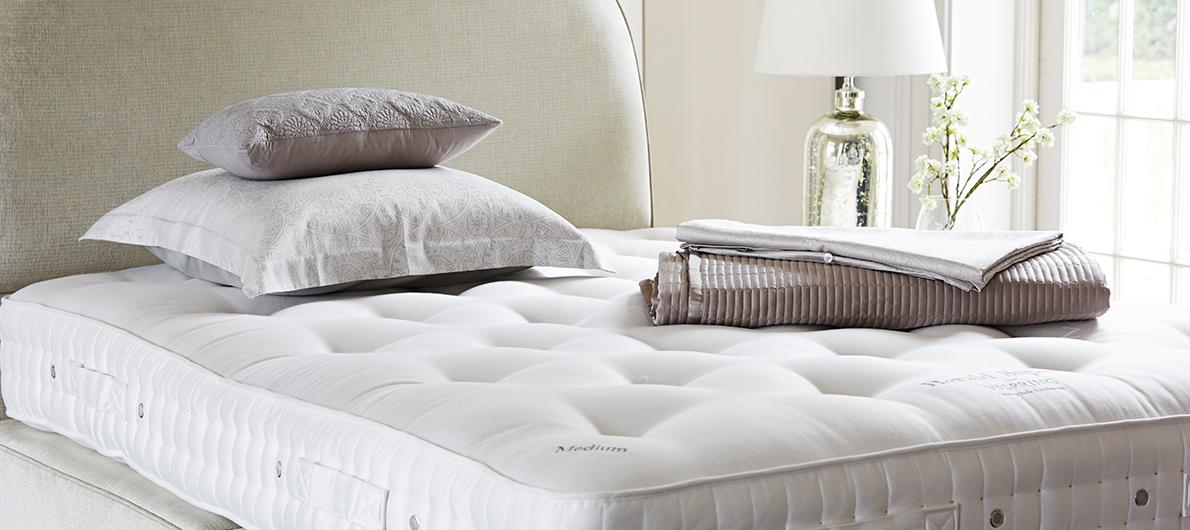 Furniture Village Guarantee vispring mattresses, beds & headboards - furniture village