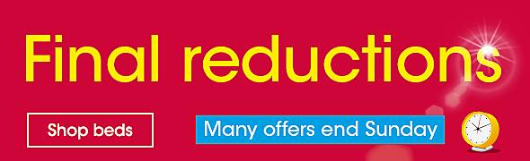 final reductions