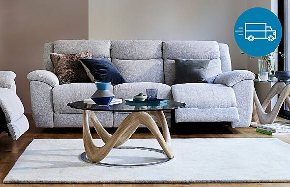 Furniture Village quick delivery sofas