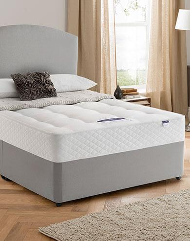 Silentnight divan beds mattresses furniture village for Silent night divan beds