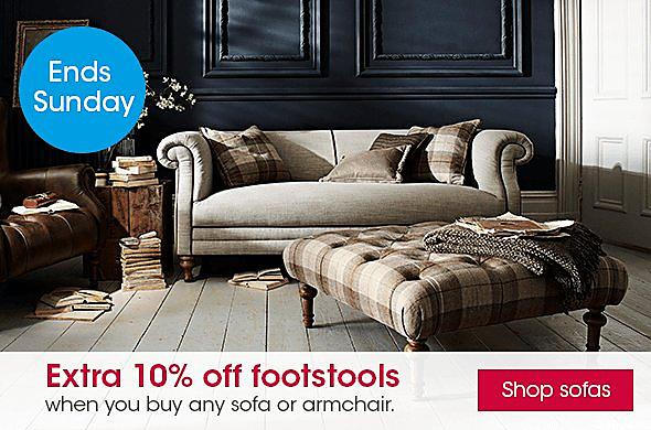 Furniture Village footstool offer