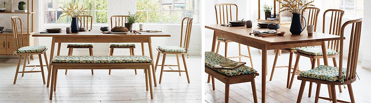 Battersea Fixed Dining Table Furniture Village
