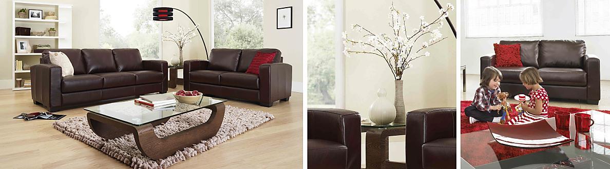 Furniture Village Dante dante 2.5 seater leather sofa bed - furniture village