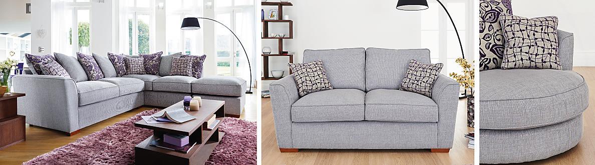 Furniture Village Jemima Corner Sofa fable fabric corner sofa - furniture village