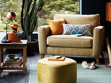 Eclectic Sofa